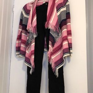 Girls size 10 gap pants and PS sweater